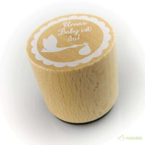 DIY Holzstempel - WOODIES ∅30mm 12
